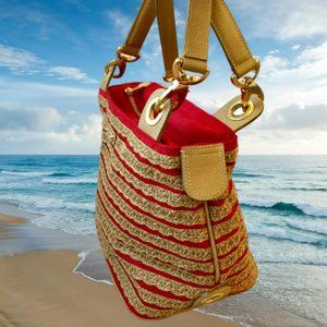 Eric Javits Designer Handbag WOVEN